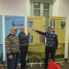 Volontari della mostra
